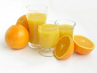 Orange juice can help mask the flavor of iron supplements.
