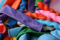 A simple bag of balloons is sufficient to teach a group about change.