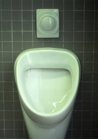 Cleaning a urinal is an important step in making sure it does not smell.