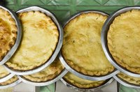 Vinegar also prevents pie crusts from over-browning.