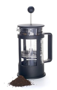 Great coffee from a French press largely depends on water temperature.