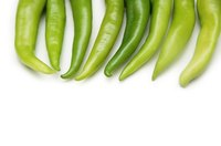 Roasting brings out the flavor in green chiles.