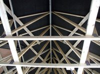 Secure roof trusses to end walls easily.