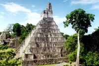 Guatemala abounds with Mayan pyramids