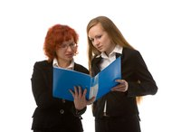 Secretaries assist management staff by performing administrative duties.