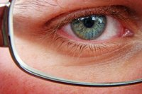 Pupillary distance is one of an optician's common measurements for eyeglasses.