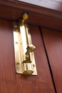 Adding Locks To Your Closet Doors Can Help Safeguard Your Belongings.