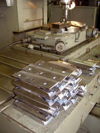 Use machine tools to bend metal.