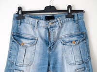 Faded blue jeans are soft, comfortable and stylish!