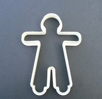 Cookie cutters are often used for holiday cookies and cakes.