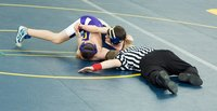 A rat-tail match occurs when a wrestling bracket can't hold all of the tournament's wrestlers.