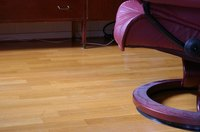 Laminate flooring is an inexpensive alternative to wood or stone floors.