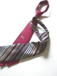 Ties can be modified for easy removal.