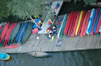 Locate your kayak rental company in a prime location for your target market.