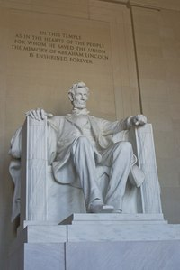 The Lincoln Memorial is part of a driving tour that follows the presidents of the United States.