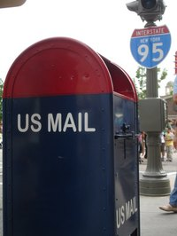 Change your address with the IRS by mail.