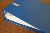 Presentation binders keep you organized and help promote your business.