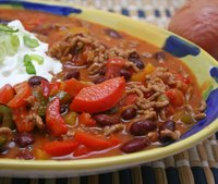 Chili recipes vary depending on personal taste.