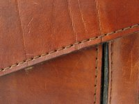 Breathe life into worn leather with color