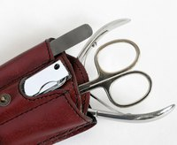 Nail clippers, scissors and other nail implements must all be clean before use.