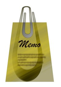 Memos are usually intended for internal company communications.