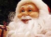 Make your own one of a kind Santa Claus doll.