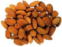 Almond milk is made from ground almonds and water.