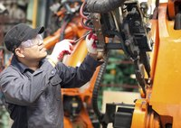 Manufacturers compare average hourly wages to average hourly production levels.