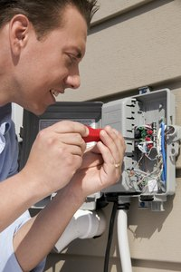 The Texas Department of Licensing and Regulation issues electrician's licenses.