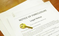 Notice of default is one of the steps before foreclosure.