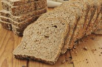Whole-wheat bread is an excellent source of fiber and other nutrients.