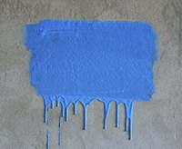 If you spread paint too thickly, it's bound to drip.