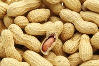 Serve boiled peanuts in the shell so your guests can enjoy the liquid mades its way inside during cooking.
