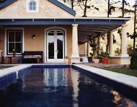 Pools rely on plumbing systems to supply water and circulation.