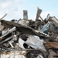 Scrap metal can be collected, sold and recycled.
