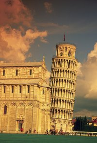No Grand Tour of Europe is complete without a stop at Pisa's famous leaning tower. .