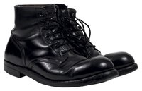 Give blisters the boot when you loosen up your combat boots.