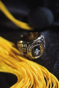 The class ring allows alumni to recognize one other.