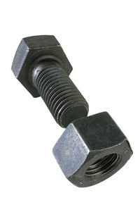 Prolonged exposure to water can rust a nut on a spinning bolt.
