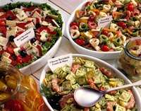 Restaurants and delis put preservatives on their salads