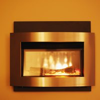 Modern electric fireplaces can easily replace gas fireplace units.