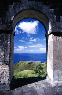 Brimstone Hill Fortress is one of St. Kitts many attractions.