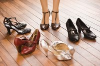 Opt for shoes in the same color family as your dress.