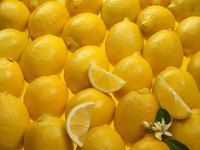 Lemons don't just smell great; they also help disinfect surfaces.