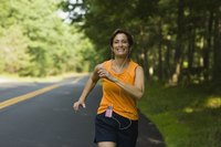 Jogging, as a weight-bearing exercise, increases bone density.