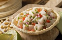 Serve ceviche as a main dish, or as an appetizer with crackers.