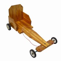Build a simple wooden go kart using basic tools.