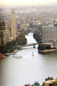 Major rivers like the Nile have supported human civilization for millennia.