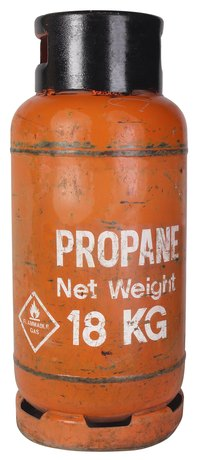 Propane has a strong chemical odor.