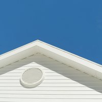 The pitch of a gable roof determines the length of its rafters.